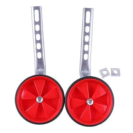 "Kids Children Bicycle Bike Training Wheels Stabilisers 12-20/"" Inch Red"
