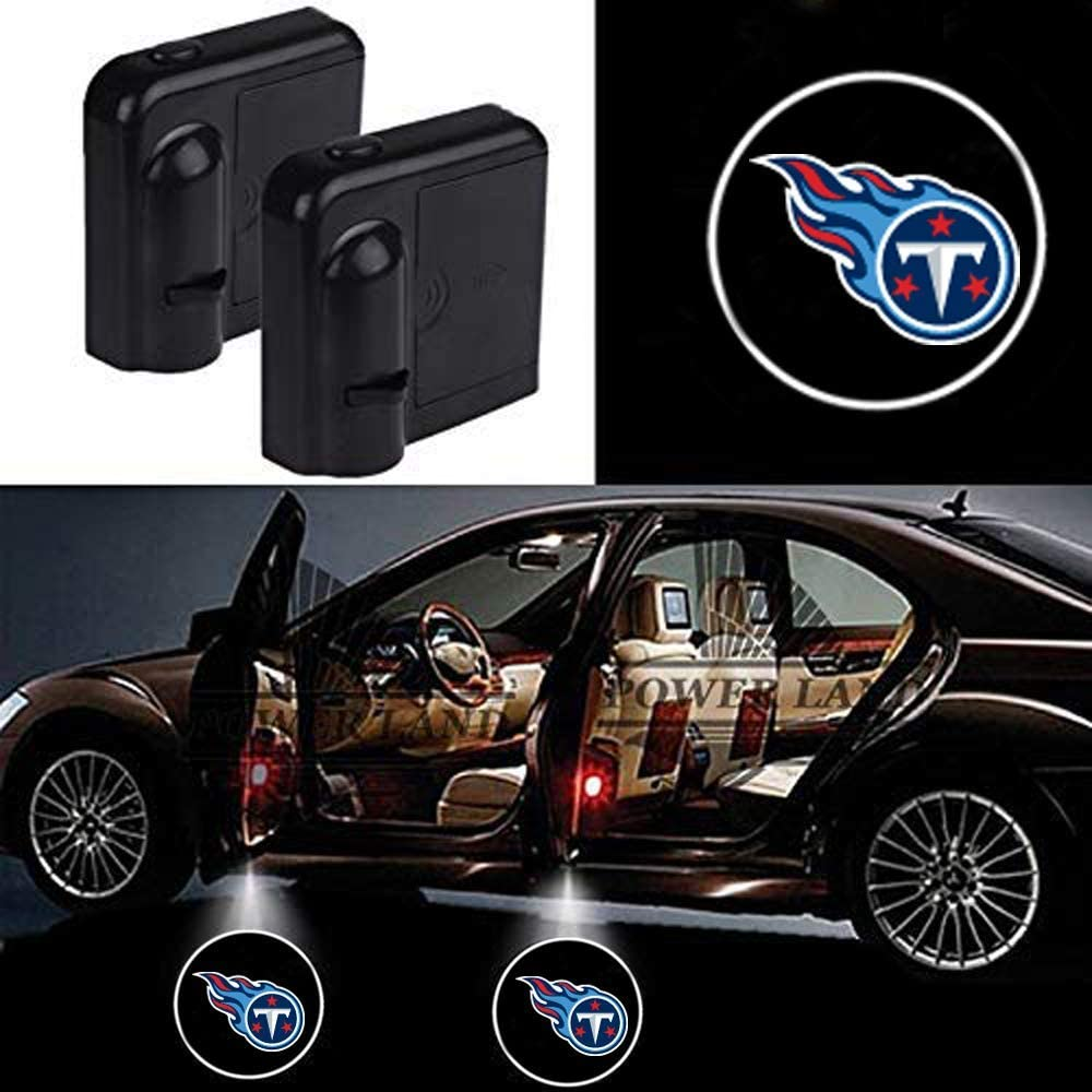 Fit Tennessee Titans For Fit Tennessee Titans Car Door Led Welcome Laser Projector Car Door Courtesy Light Suitable Fit for all brands of cars