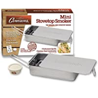 Stovetop Smoker - Camerons Stainless Steel Smoker with Wood Chips - Works Over Any Heat Source, Indoor or Outdoor