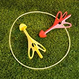 Giant Lawn Dart Game Set - Includes 4 Rubber Tipped Darts!