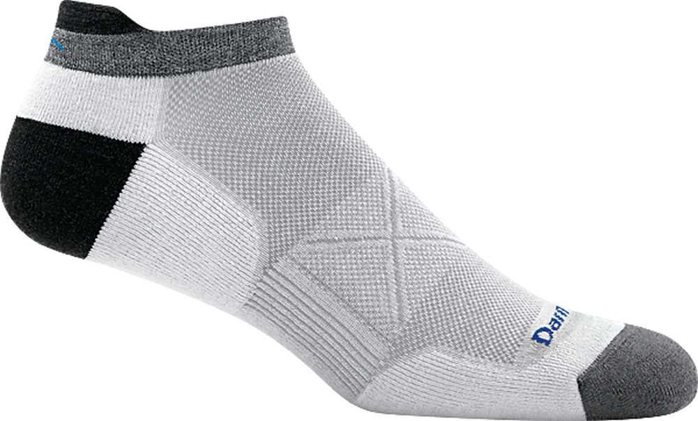 Darn Tough Coolmax Vertex No Show Tab Ultra-Light Sock - Men's White Large