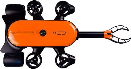 Movesea Unterwasserdrohne Titan 200m T6t 1 200bl Mit Roboterarm Geneinno 847401 Sport Freizeit