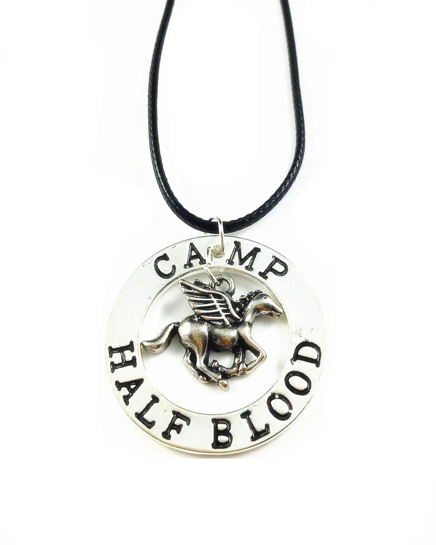Cafurty the Last Olympian Camp Pegasus Zeus Half-Blood Percy Jackson Necklace
