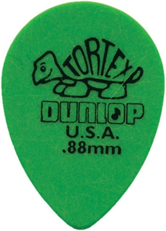 Yellow .73mm Dunlop 423R.73 Tortex Small Tear Drop 36//Bag