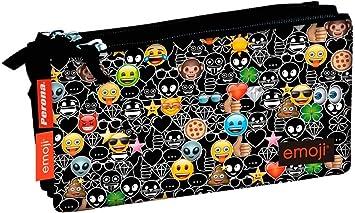 Emoji- Estuche, Color Negro (Smiley 78207): Amazon.es: Juguetes y juegos