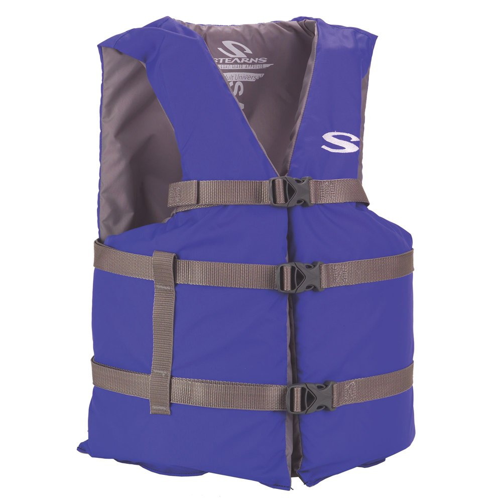 Stearns Adult Classic Series Vest,  3000001685, Blue, Oversized