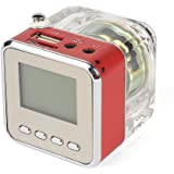 NiZHi MP3 Mini Digital Portable Music Player Micro SD USB FM Radio -TT-028-Red