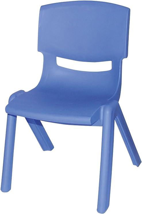 Bieco 04000003 Bambini Sedia Di Plastica Blu Amazonit Giochi E