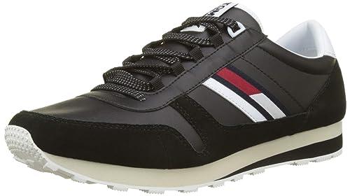 Jeans Retro Low Men's Sneaker Runner Tommy Top 3uFc5lK1TJ