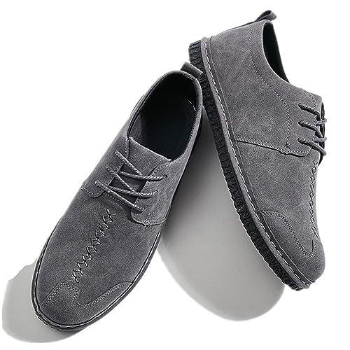 Bebete5858 Náuticos de Piel Vuelta para hombre: Amazon.es: Zapatos y complementos