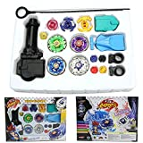 New Metal Fusion Top Rapidity Fight Master Rare Beyblade 4d Launcher Grip Set by Imachine