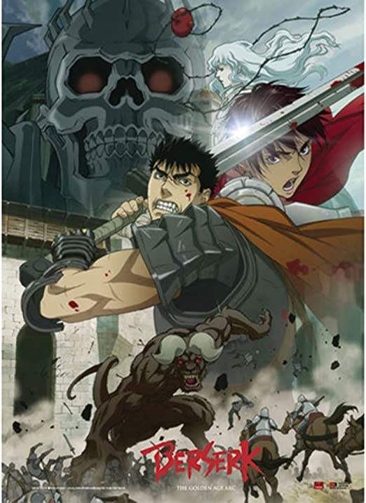 BERSERK ~ CHARACTERS 24x36 ANIME POSTER ~ NEW//ROLLED!