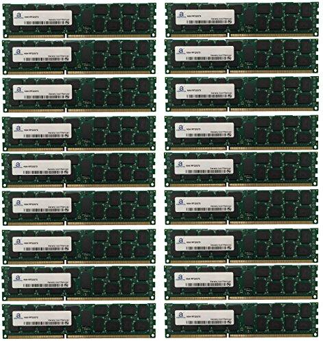 Registered System Memory (Adamanta 288GB (18x16GB) SQL Server Memory Upgrade for IBM System x3650 M3 7945 DDR3 1333Mhz PC3-10600 ECC Registered 2Rx4 CL9 1.35v)