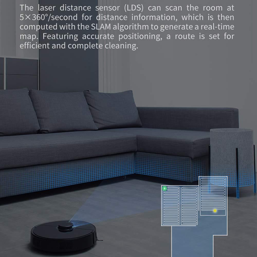 Aspiradora Smart Mi Robot, Aspiradora Roborock S55, Aspiradora Xiaomi 2 Generación EU (Integración de Barrido y fregado, Sensor LDS, Recarga ...