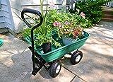 Precision LC2000 Garden Cart, Green