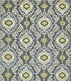 Unique Loom Eden Outdoor Collection Blue 10 x 12 Area Rug (10' x 12')