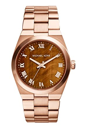 d0e392d8f Michael Kors Womens Quartz Watch, Analog Display and Stainless Steel Strap  Mk5895
