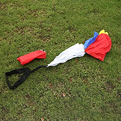 Resistance Parachute Creative Speed Training Chute Running Chute for Kids: Kitchen & Dining