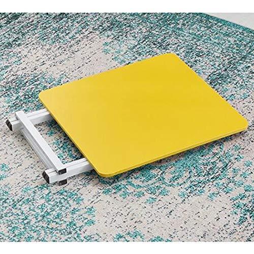 AOLI Mesa plegable pequeña Mesa rectangular, 60 y tiempos; 60 cm ...