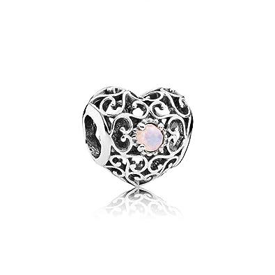 comprare popolare 32760 3444c Buy Pandora 791784nop October Signature Heart Charm Online ...