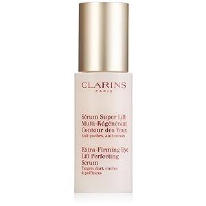 Clarins - Sérum atiarrugas reafirmante para contorno de ojos - Mult-regenerante, antibolsas, antiojeras - 15 ml