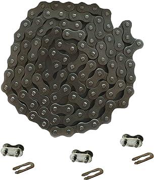 JRL 415 Chain/&Drive Sprocket/&3xChain Master Link For 49cc 66cc 80cc Motorized Bike