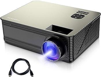 PONER SAUND M5 3800-Lumens Home Theater Projector