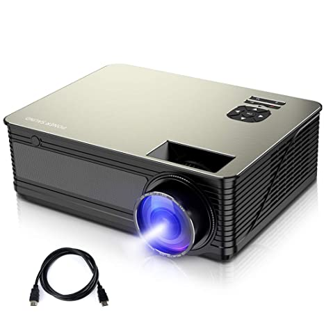Amazon.com: Proyector PONER SAUND, proyector de película ...