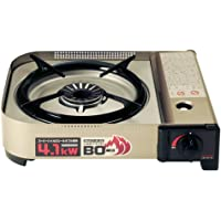 Iwatani cassette Fu BO (baud) EX [force high heat stove / maximum heat output 4.1kW] hairline silver CB-AH-41