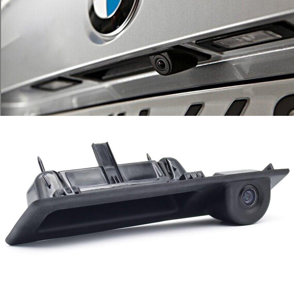 Navinio Imperméable à l\'eau de Vision Nocturne Tronc Poignée de Voiture Caméra de Recul de Vue Arrière pour 3er/4er/ 5er Series/ X3/F25/X4/X5/320Li/530i/328i/535i/ F30/F31/ F32/F34/F35/F80