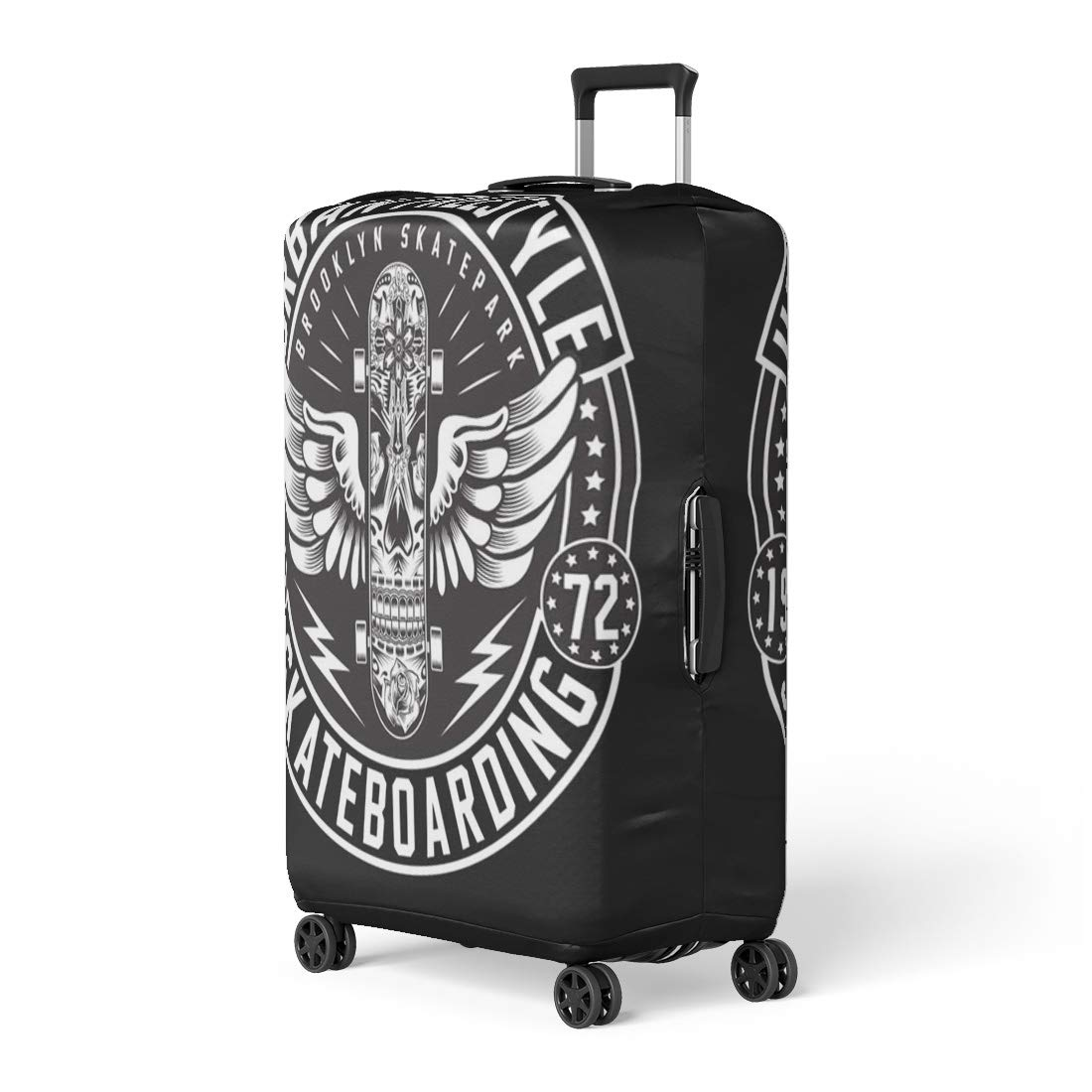 a4fc3579d210 Amazon.com: Pinbeam Luggage Cover Skateboard Skate Board Freestyle ...