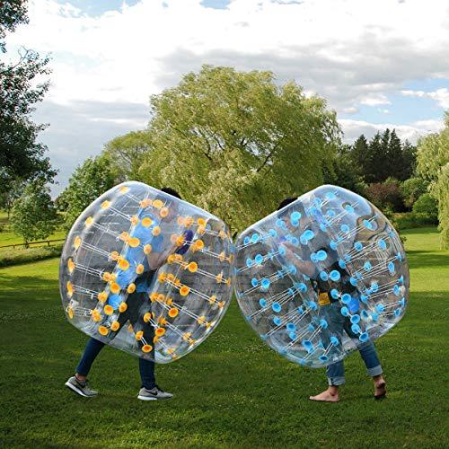 Item Valley 1.5M Inflatable Bumper Ball Dia 5' Bubble Body PVC Soccer Ball Human Knocker ()