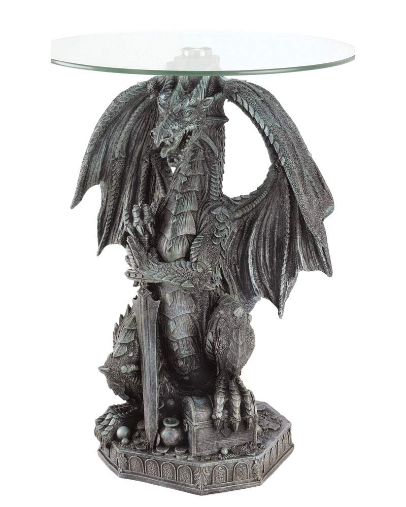 Guarding Dragon Accent Table by Koehler