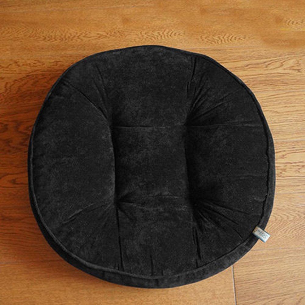 TMJJ Thicken Futon Yoga Meditation Seat Cushion Round Living Room Floor Pillow Cushions Balcony Window Pads 20.47 x 20.47 inches