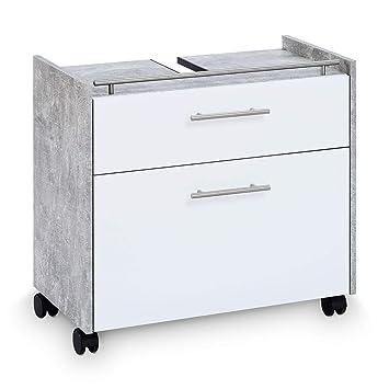 Amazon De Galdem Waschbeckenunterschrank Elegance Mit 2 Schubladen