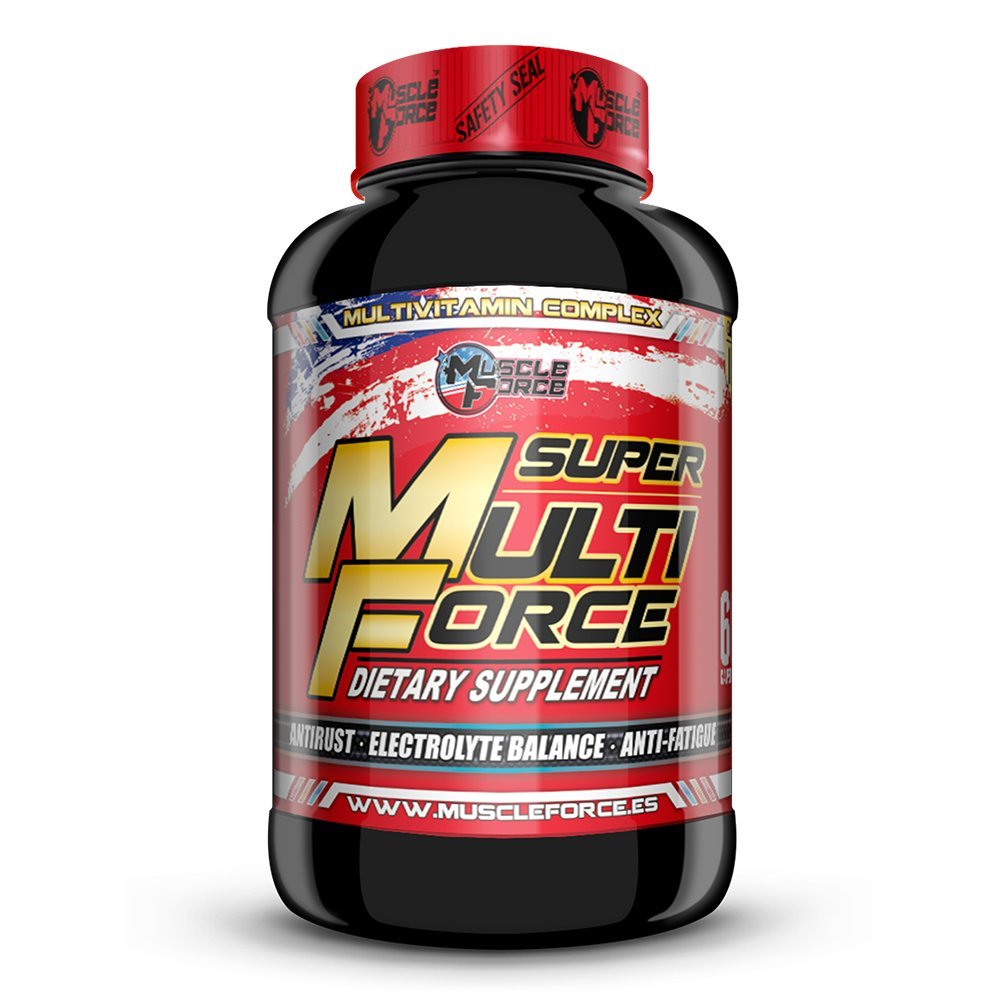 Super Multi Force Multivitaminico 60 capsulas: Amazon.es: Salud y cuidado personal