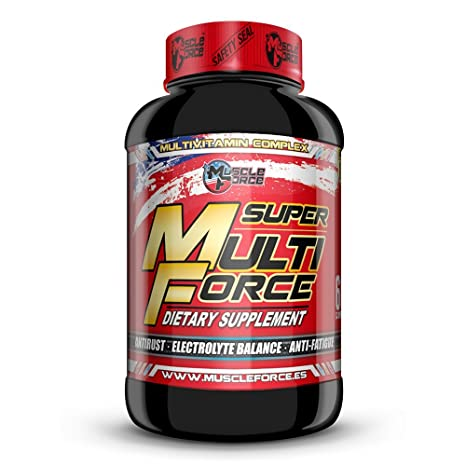 Super Multi Force Multivitaminico 60 capsulas: Amazon.es ...