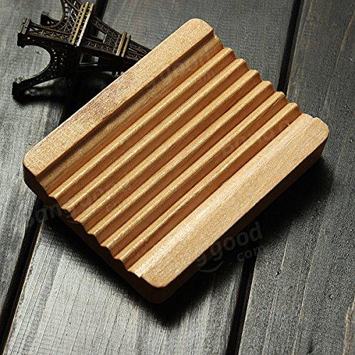 Bazaar Type washboard gadget salle de titulaire naturel de savon bois