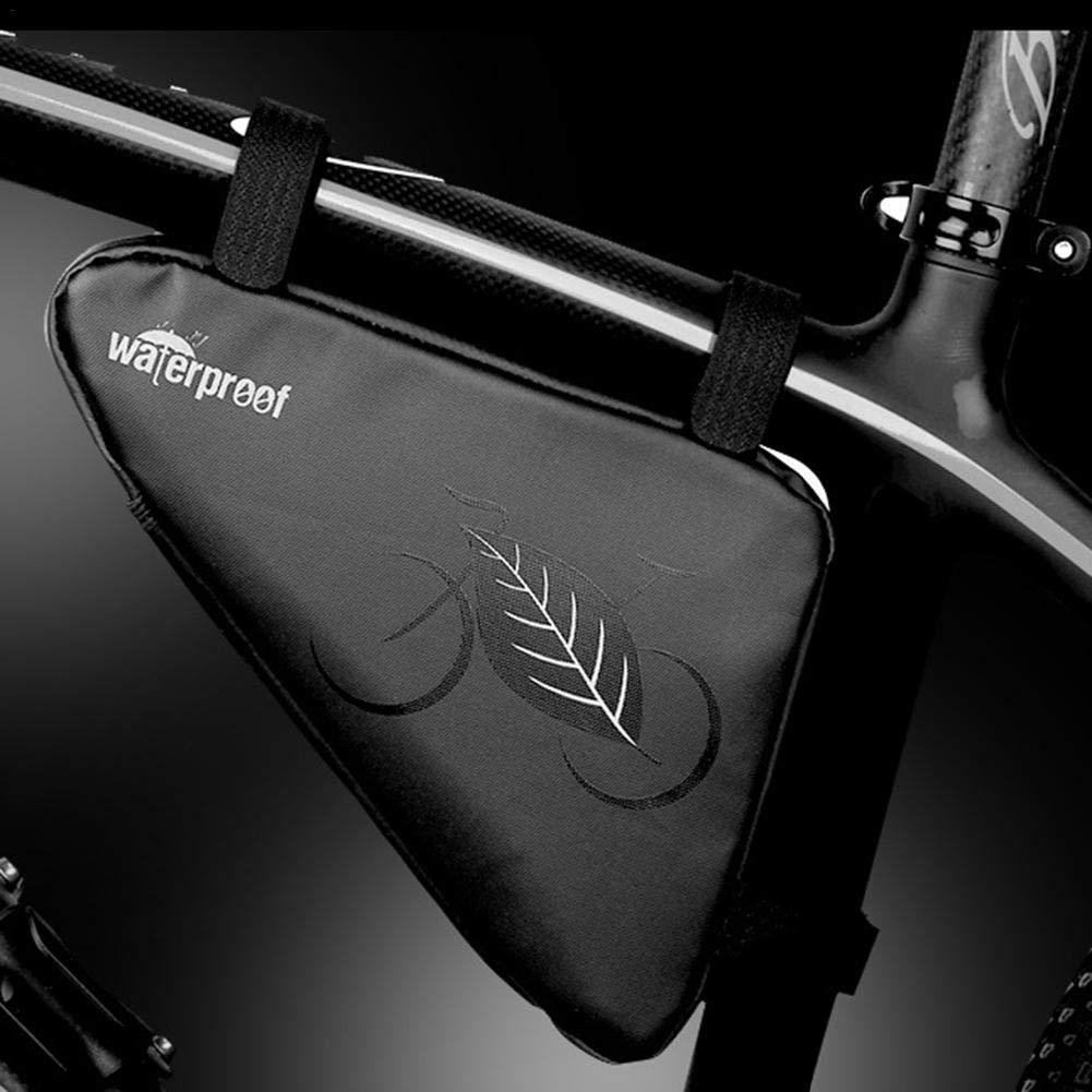 HELLOO HOME Sacca portaoggetti per Bicicletta Sportiva Sella Triangolare per Borsa a Tracolla per Bicicletta Sacca da Viaggio Impermeabile