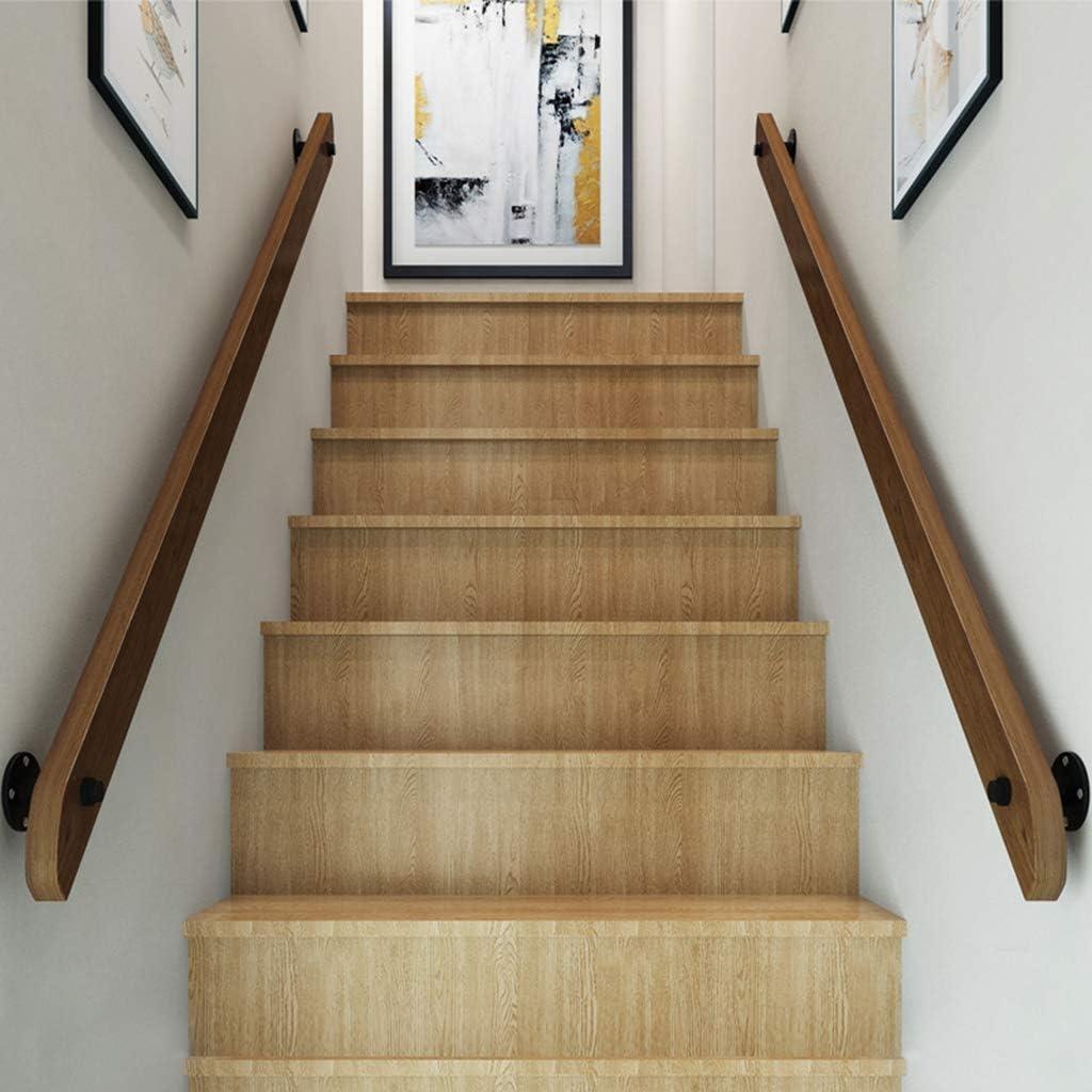 Barandillas de Escalera de Madera Corredor de casa Barra de Soporte de Pared Altillo Interior Pasamanos Antideslizantes de Seguridad para Ancianos Barandillas - 30-400cm: Amazon.es: Hogar