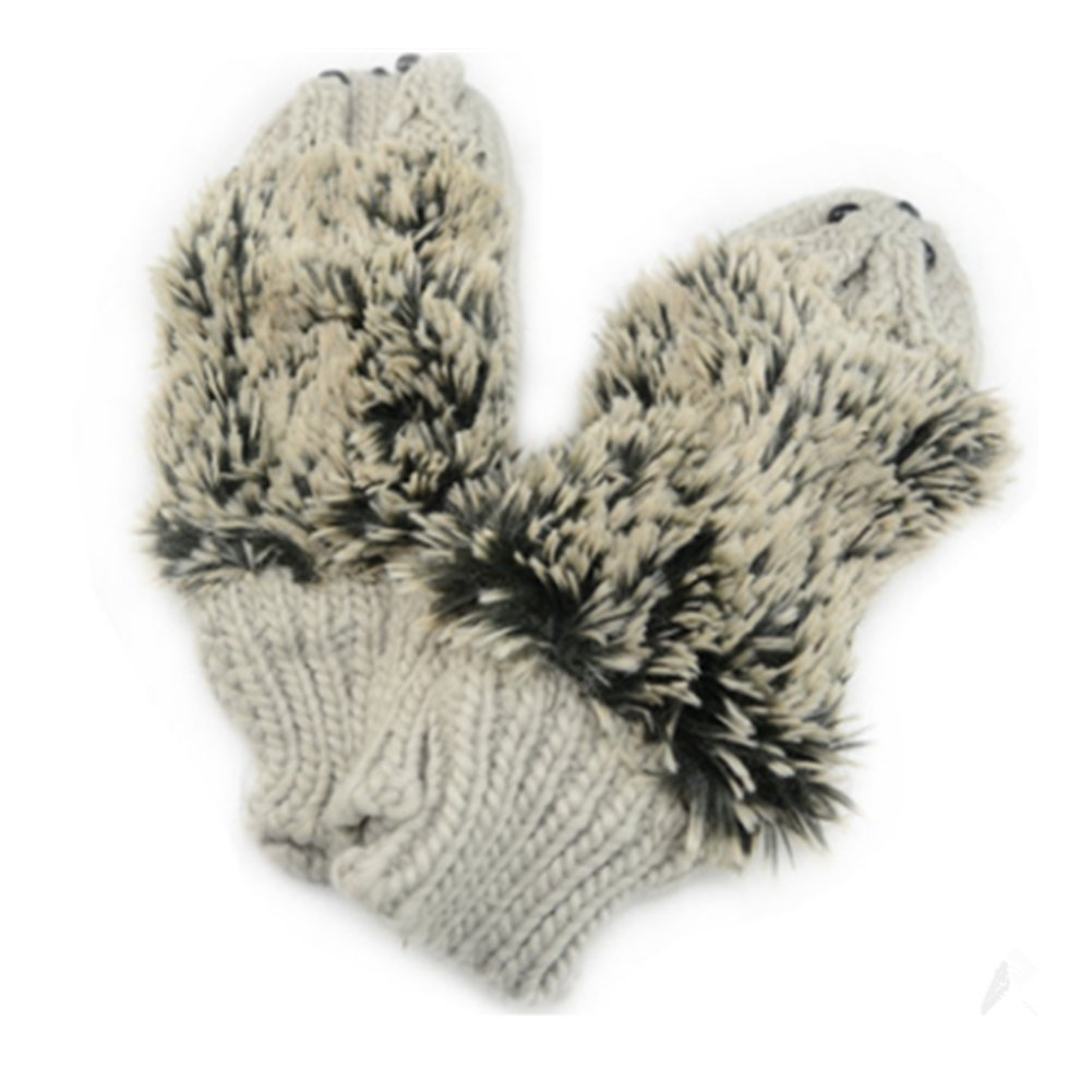 Girls' Kids' Cartoon Hedgehog Winter Cotton Gloves Mittens Einfachheit