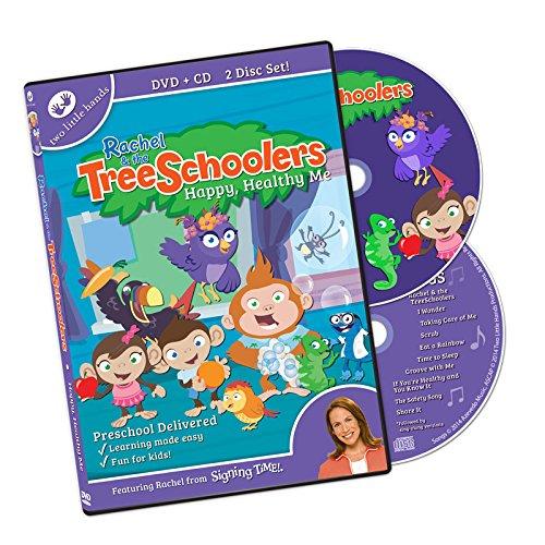 TreeSchoolers: Happy Healthy Me DVD/CD