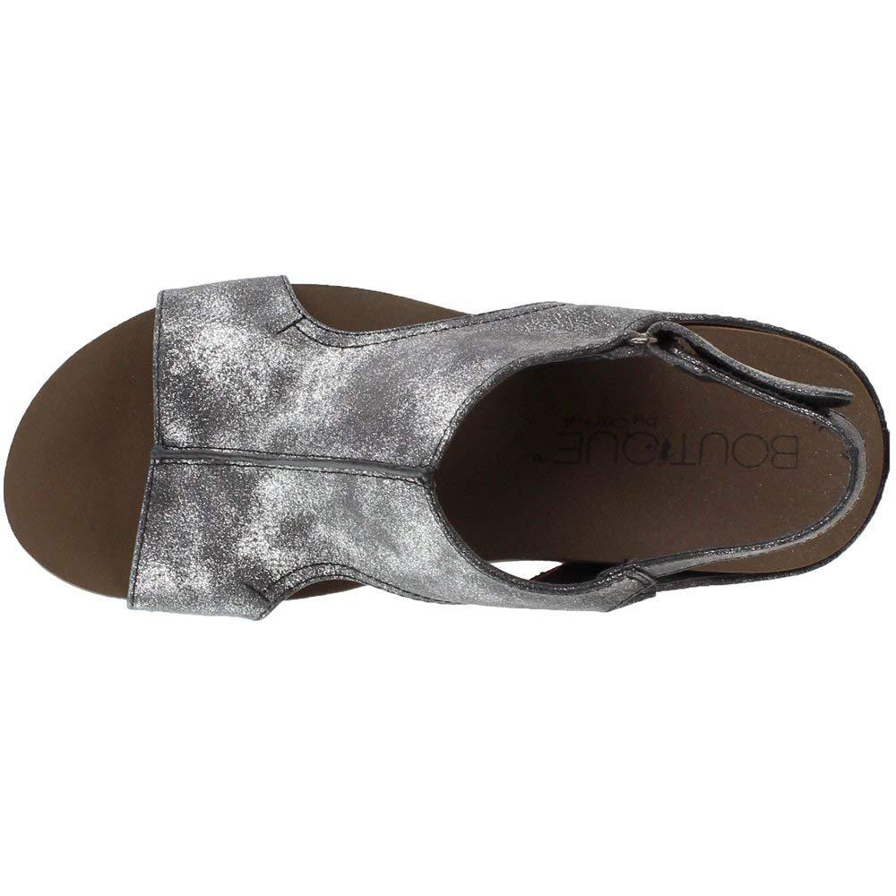 Corkys Footwear Womens Ingrid Wedge Leather Sandal