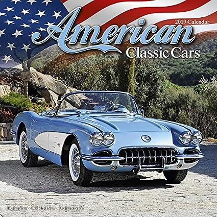 Calendario 2019 coches Americaine - Coche de colección ...