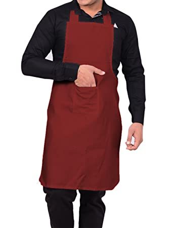 Aurum Creations Maroon Kitchen Aprons
