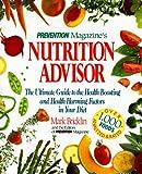 Prevention Magazine's Nutrition Advisor, Prevention Magazine Editors and Mark Bricklin, 0875962254