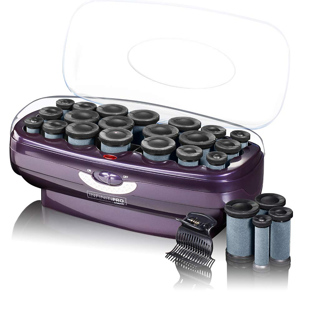 INFINITIPRO BY CONAIR Instant Heat Ceramic Flocked Rollers