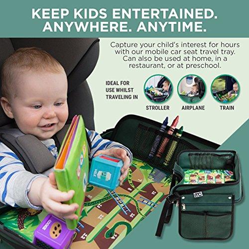 Premium Kids Car Seat Tray