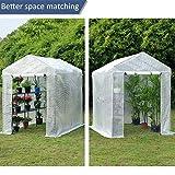 Mellcom Mini Walk-in Greenhouse,Indoor Outdoor