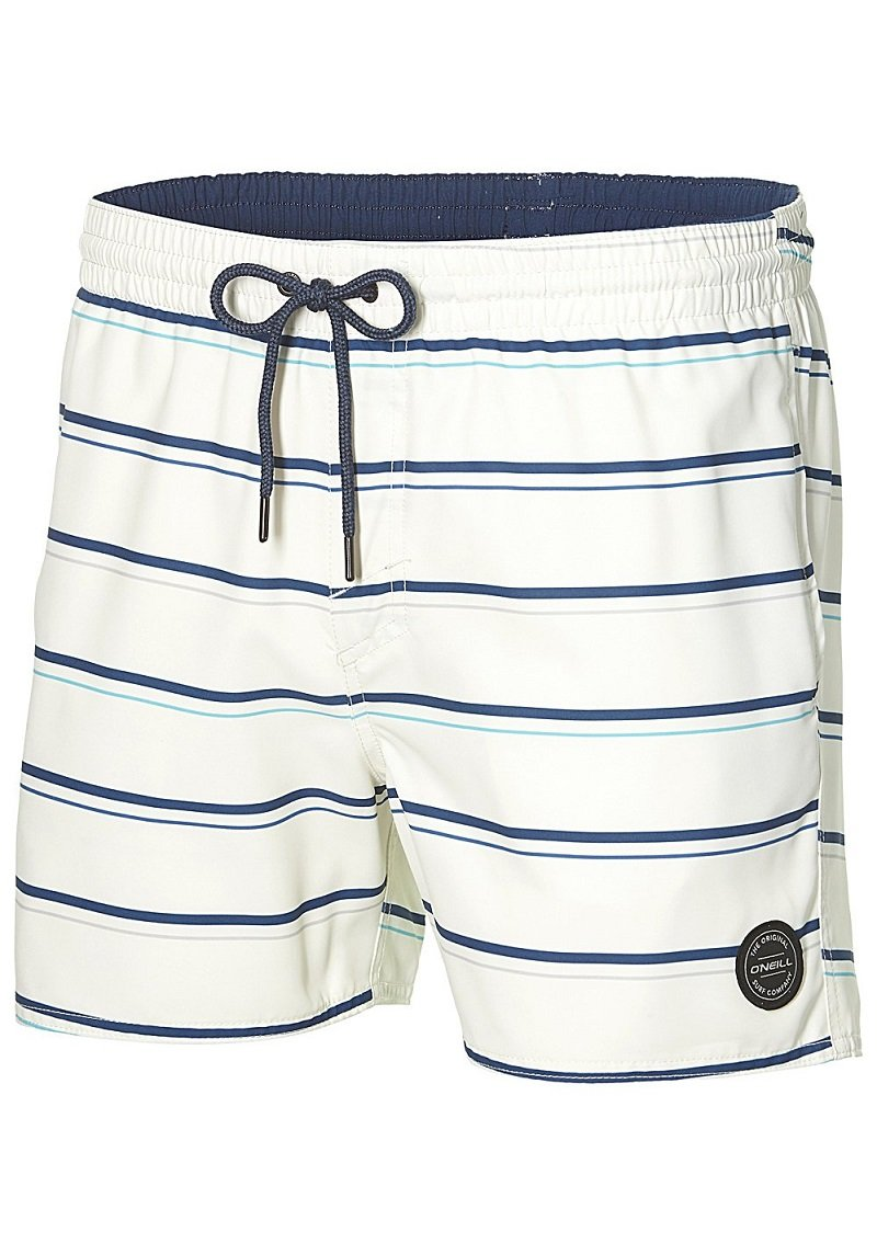 O 'Neill MID Vert tipo Pantalones Cortos Kiama–Bañador, hombre, Mid vert art shorts, Multicolor (White Aop), small